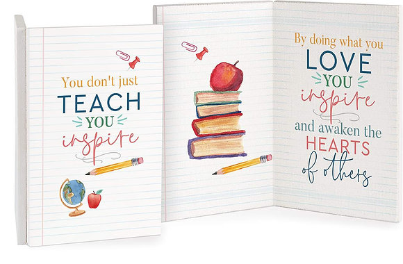 Teacher Keepsake Card