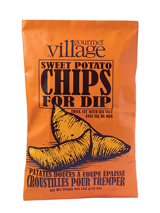 Thick Cut Sweet Potato Chips