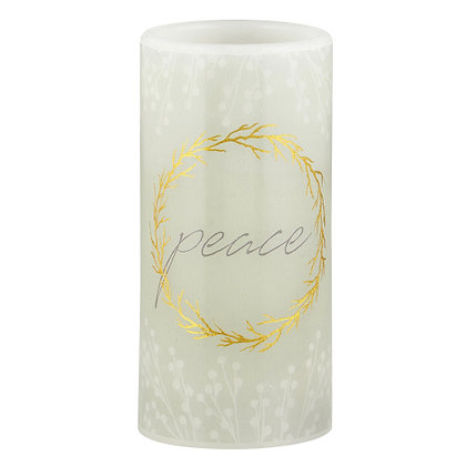 3x6 LED Candle - Peace