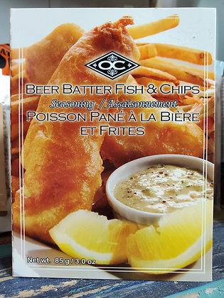 Fish & Chips Beer Batter