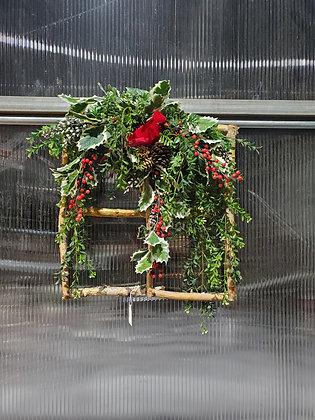 Cardinal Birch Wreath