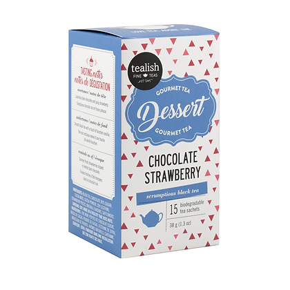 Chocolate Loves Strawberry - Teabox
