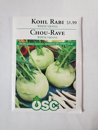 Kohl Rabi - White Vienna