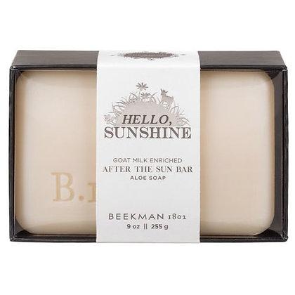 Hello Sunshine After the Sun Bar Soap