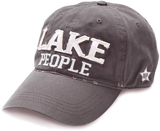 Lake Dark Gray Adjustable Hat
