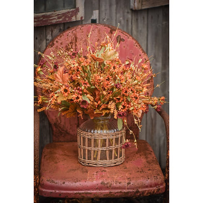 "20"" Autumn Heather Bush"