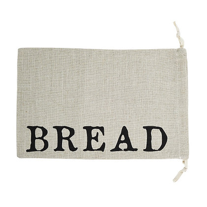 Large Drawstring Bread Pouch