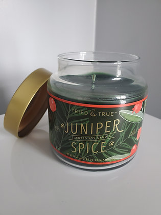 Large Juniper Spice Candle