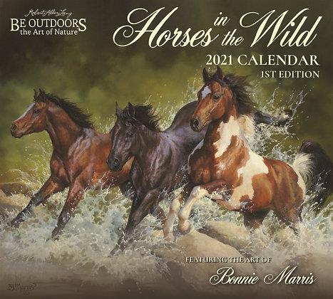 Horses in the Wild Calendar