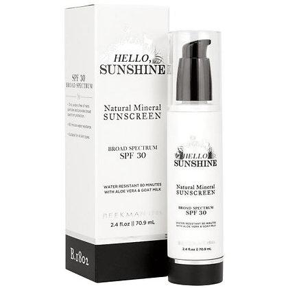 Hello Sunshine Sunscreen SPF 30