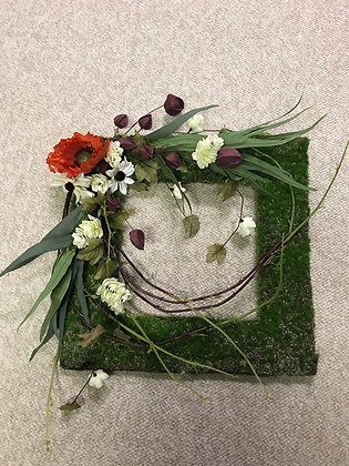 Square Moss Wreath