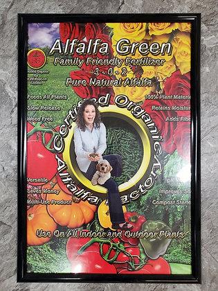 Green Organic Alfalfa Pellets 50lb