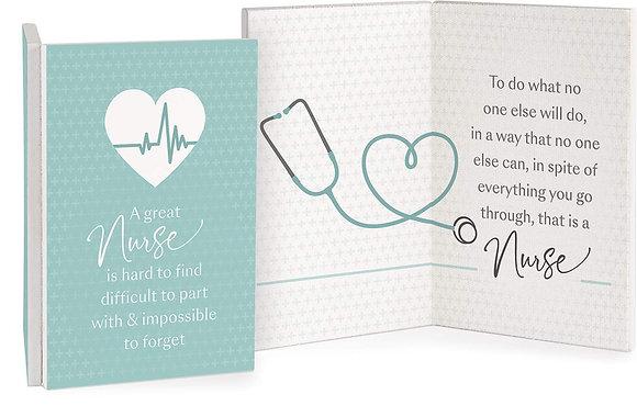 A Great Nurse Keepsake Card