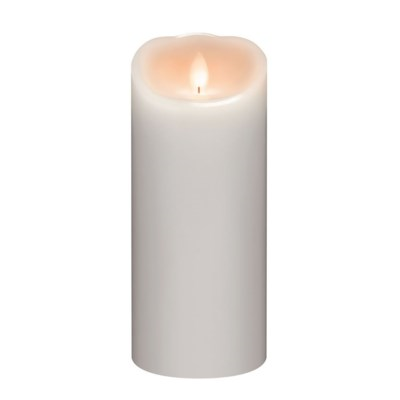 LED 3X9 Smooth White Pillar