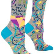 Love my Asshole Kids Women's Socks