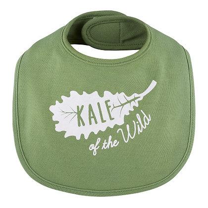 Kale of The Wild Bib 3-12 mo