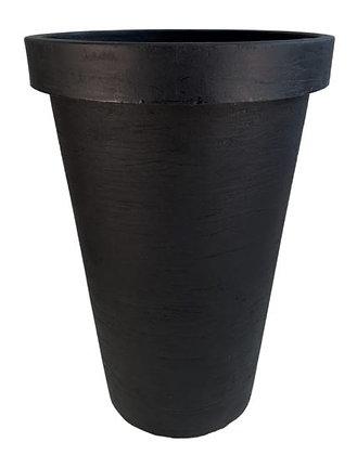 "Black Rose Planter - 21.5"""