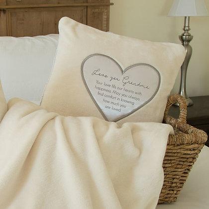 "Grandma - 16"" Royal Plush Pillow"