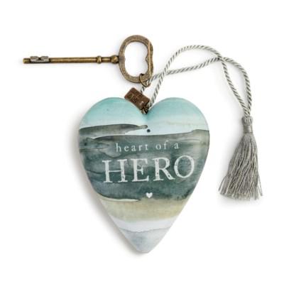 Heart of a Hero Art Heart