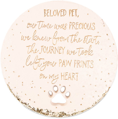 "Beloved Pet - 10"" Garden Stone"