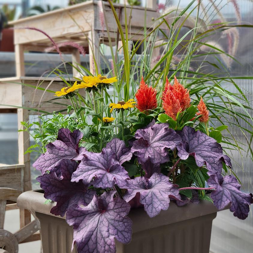 Create A Fall Planter