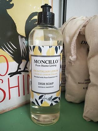Fig & Lemon Liquid Dish Soap