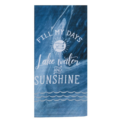 Lake Water Tea Towel