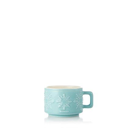 Hot Cocoa Peppermint Mug Candle