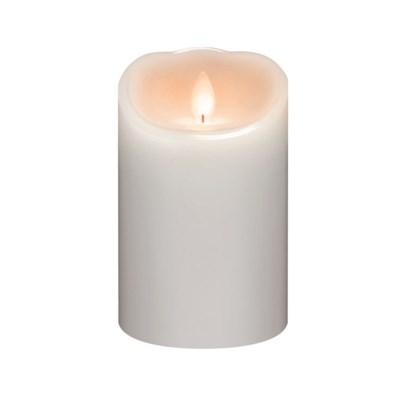 LED Smooth White Pillar