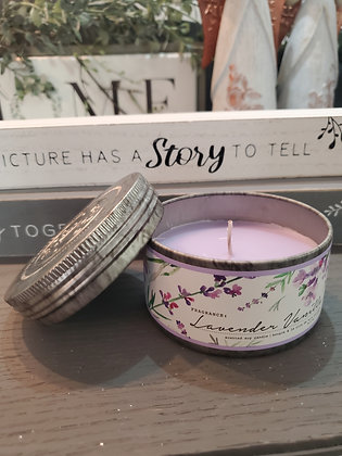 Lavender Vanilla Small Tin