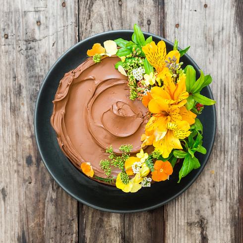 food photography cake