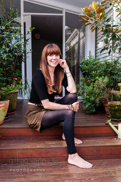 Kate Morton at home, natural