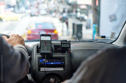 inside the uber