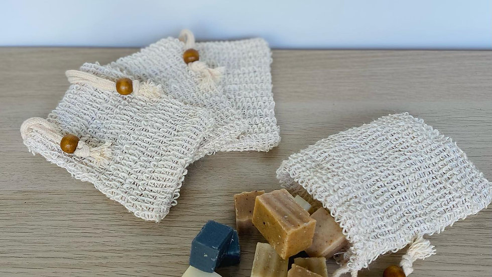 Filled Exfoliating Soap Pouch