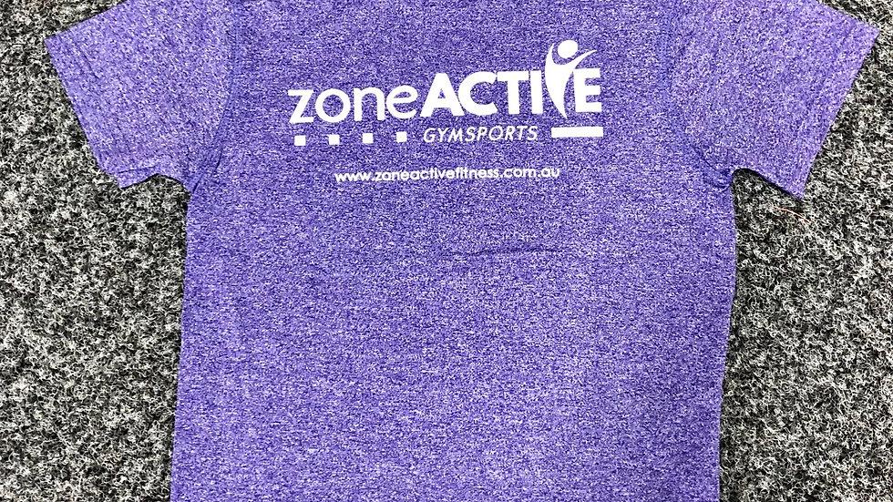PURPLE ZONE ACTIVE TEE