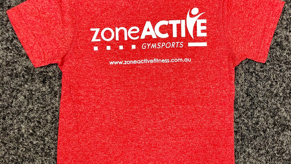 RED ZONE ACTIVE TEE