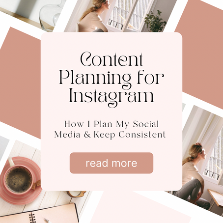 How I Plan My Social Media and Keep Consistent