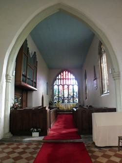 Inside All Hallows Church