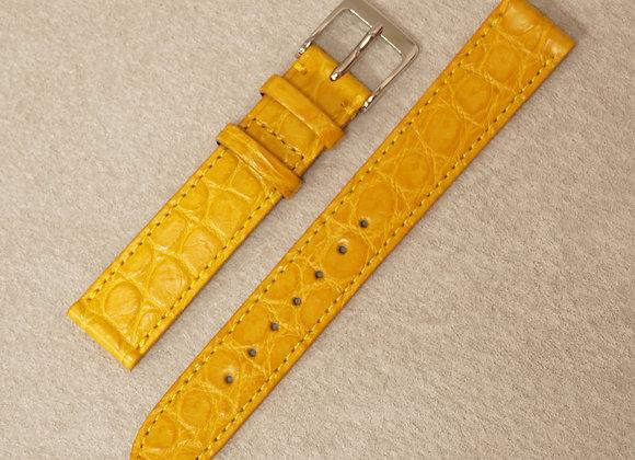クロコダイル 時計ベルト15mm