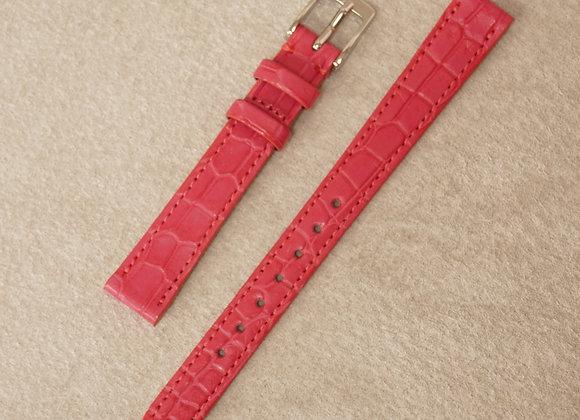 クロコダイル 時計ベルト12mm