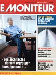Couv Le Moniteur_Octobre 2010_N5579_Page