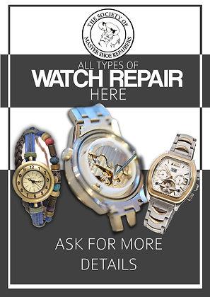 Watch Repair Poster A2