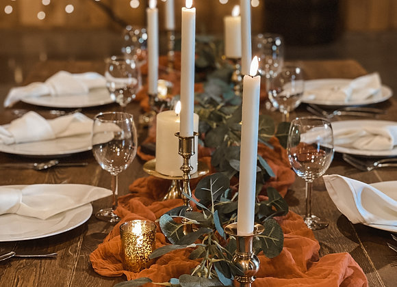 Cheesecloth Table Runners