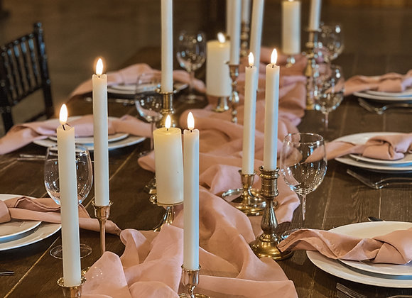 Crushed Sheer Table Runners