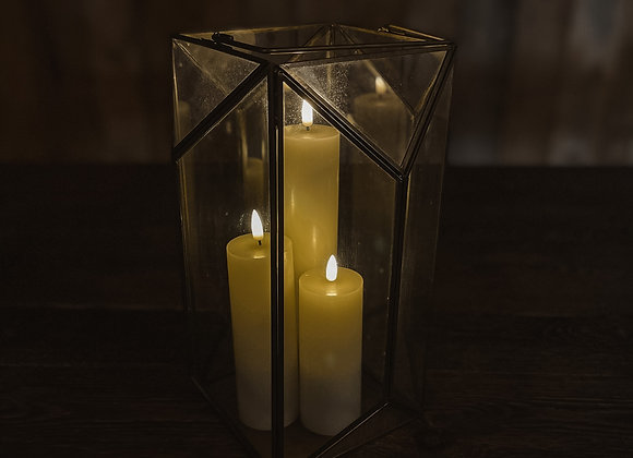 Gold & Glass Lantern