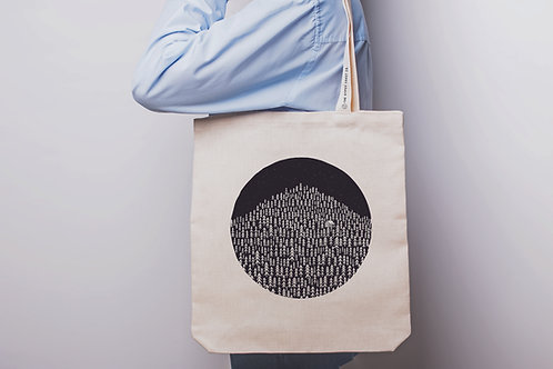 Born in the Woods Tote