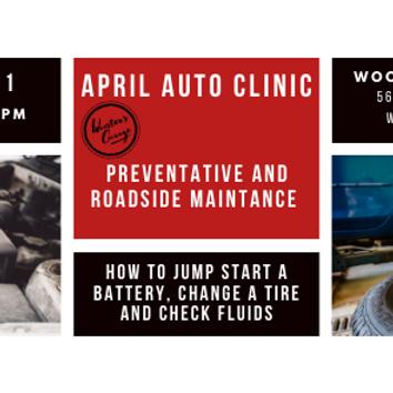April Auto Clinic