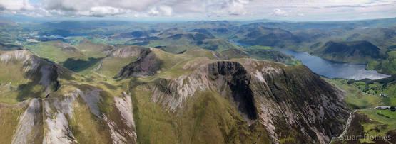 Dove Crag panorama