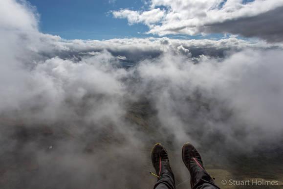 Cloud flying