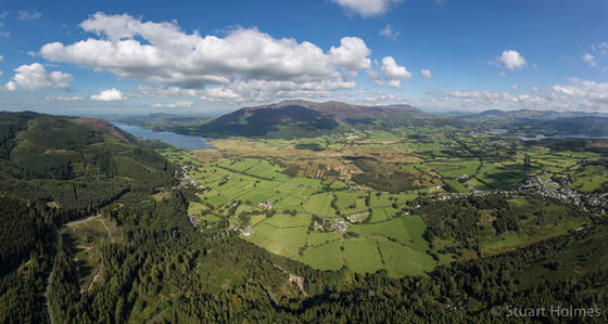 From above Whinlatter